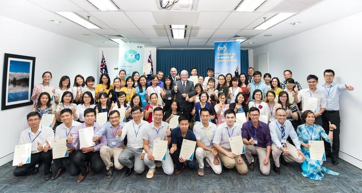 Australia tiếp tục đồng hành với các cựu sinh viên vì sự phát triển bền vững ở Việt Nam - ảnh 1