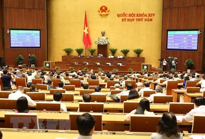 Quốc hội thảo luận về dự án Luật Công an nhân dân và dự án Luật Chăn nuôi - ảnh 1