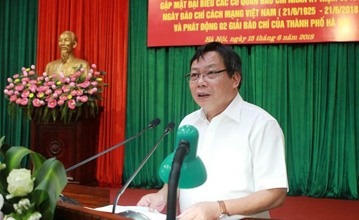 Phát động Giải báo chí về xây dựng Đảng và xây dựng văn hóa người Hà Nội  - ảnh 1