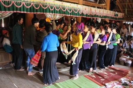 Đặc sắc lễ hội Pang a của dân tộc La Ha - ảnh 2