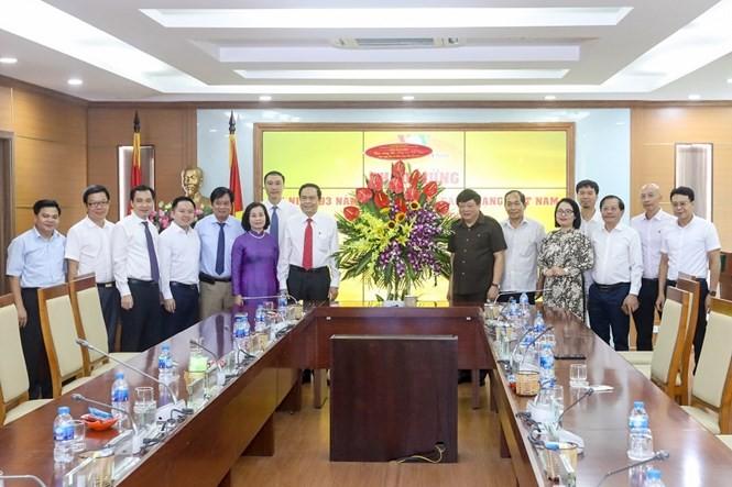 Ủy ban Trung ương MTTQ Việt Nam chúc mừng Đài TNVN nhân ngày 21/6 - ảnh 1