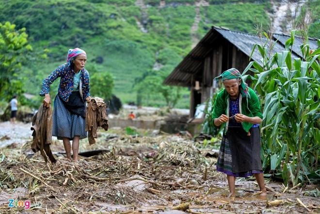 Tập trung các biện pháp khắc phục hậu quả mưa lũ các tỉnh miền núi phía Bắc  - ảnh 1