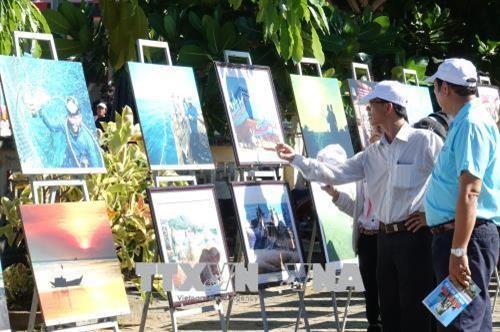 """Trưng bày chuyên đề """"Lý Sơn  - Di sản văn hóa biển, đảo"""" - ảnh 1"""