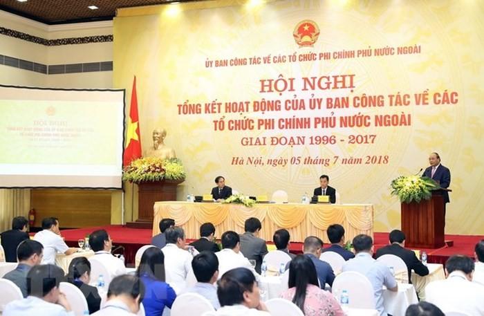 Chính phủ Việt Nam khuyến khích và tạo điều kiện thuận lợi cho hoạt động phi chính phủ nước ngoài - ảnh 1