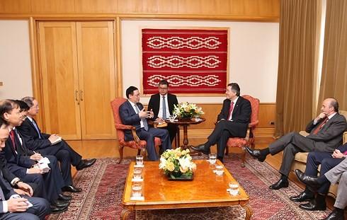 Hoạt động của Phó Thủ tướng Vương Đình Huệ tại Chile - ảnh 1