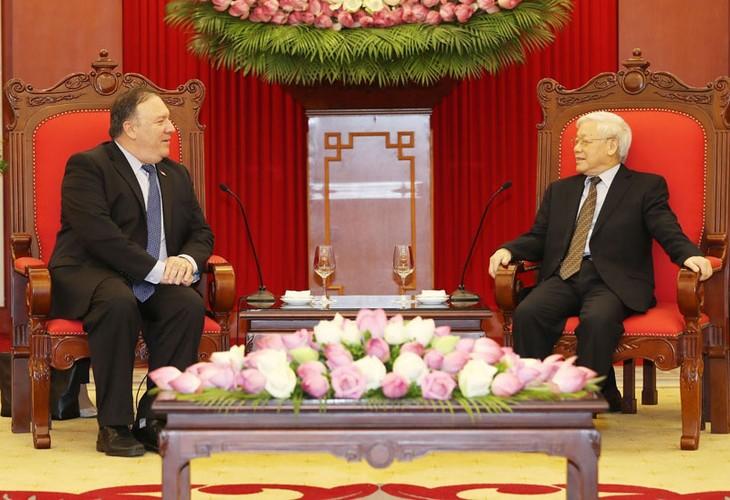 Thúc đẩy quan hệ Đối tác toàn diện Việt Nam - Hoa Kỳ phát triển hiệu quả - ảnh 1