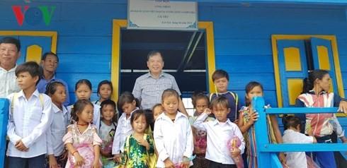 Khánh thành lớp học cho Việt kiều tại tỉnh Pursat (Campuchia) - ảnh 2