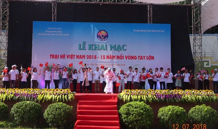 """Khai mạc trại hè Việt Nam 2018: Hành trình """"15 năm - Nối vòng tay lớn"""" - ảnh 4"""