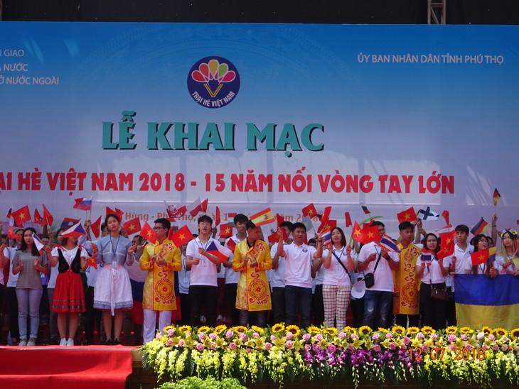 """Khai mạc trại hè Việt Nam 2018: Hành trình """"15 năm - Nối vòng tay lớn"""" - ảnh 5"""