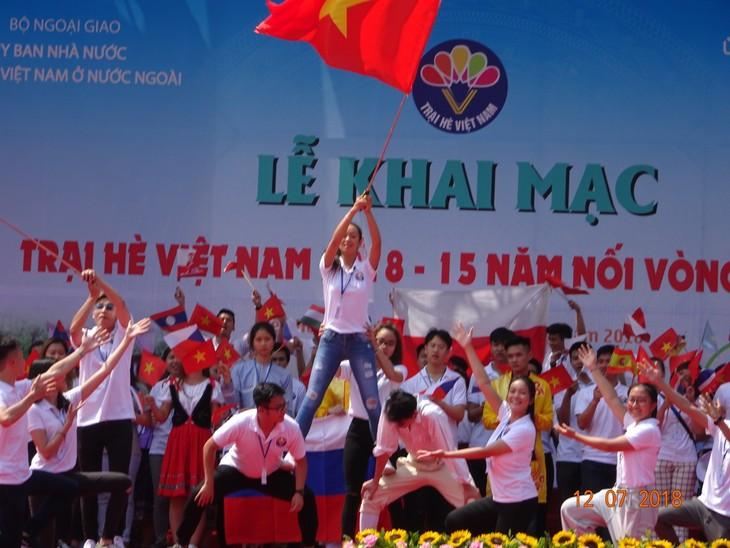 """Khai mạc trại hè Việt Nam 2018: Hành trình """"15 năm - Nối vòng tay lớn"""" - ảnh 6"""