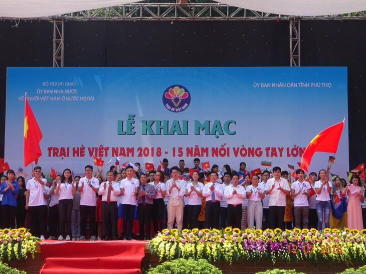 """Khai mạc trại hè Việt Nam 2018: Hành trình """"15 năm - Nối vòng tay lớn"""" - ảnh 9"""