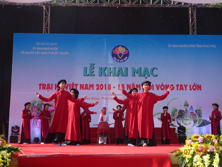 """Khai mạc trại hè Việt Nam 2018: Hành trình """"15 năm - Nối vòng tay lớn"""" - ảnh 7"""