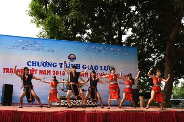 Trại hè Việt Nam 2018: Hòa mình cùng tuổi trẻ và không gian Cồng chiêng Tây Nguyên - ảnh 2