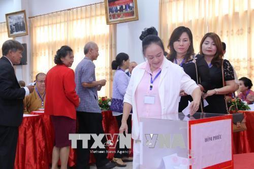 Hội người Việt Nam tại Viêng Chăn tổ chức Đại hội đại biểu khóa X - ảnh 1