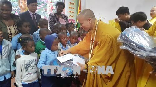 Cộng đồng người Việt tại Mozambique long trọng tổ chức Đại lễ Phật Đản - ảnh 1