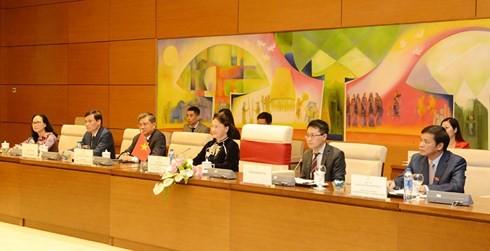 Chủ tịch Quốc hội Việt Nam hội đàm với Chủ tịch Hạ viện Australia - ảnh 1