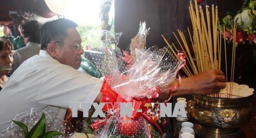 Lễ cầu siêu và dâng hương tưởng niệm liệt sĩ Thanh niên xung phong - ảnh 1