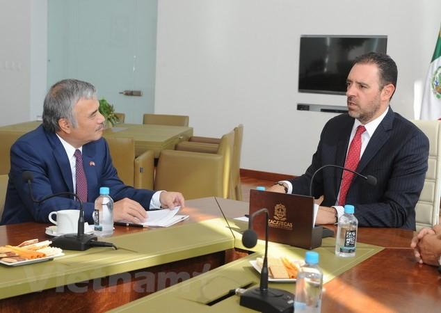 Thúc đẩy hợp tác giữa Mexico và Việt Nam - ảnh 1