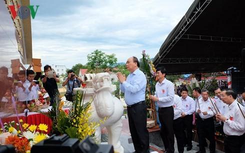 Thủ tướng dự lễ kỷ niệm ngày Thương binh liệt sĩ tại tỉnh Quảng Nam - ảnh 3
