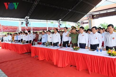 Thủ tướng dự lễ kỷ niệm ngày Thương binh liệt sĩ tại tỉnh Quảng Nam - ảnh 1