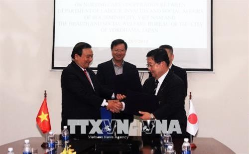 Thành phố Hồ Chí Minh và thành phố Yokohama hợp tác về đào tạo điều dưỡng - ảnh 1