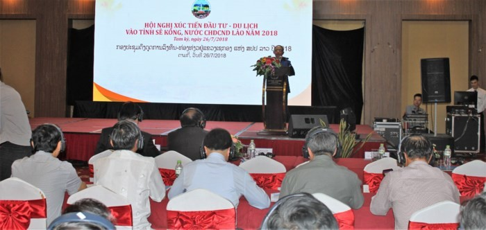 Xúc tiến đầu tư, du lịch vào tỉnh Sê Kông (Lào)  - ảnh 1