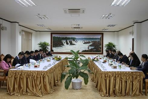 Tăng cường hợp tác Việt - Lào - ảnh 2