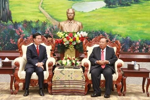 Tăng cường hợp tác Việt - Lào - ảnh 1