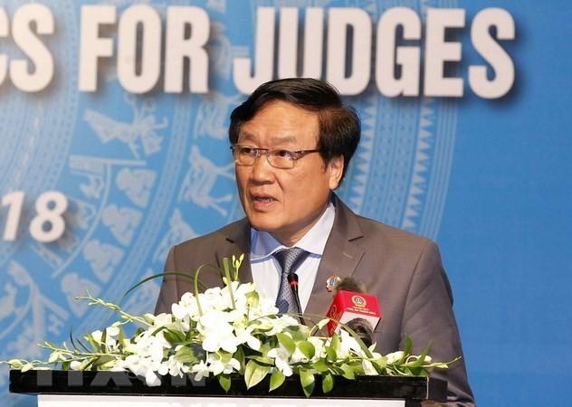 Việt Nam và Singapore tăng cường hợp tác trong lĩnh vực tòa án - ảnh 1