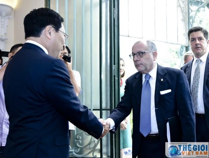 Hội đàm cấp Bộ trưởng Ngoại giao Việt Nam và Argentina - ảnh 1