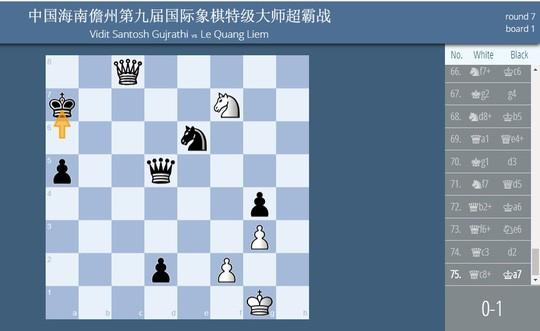 Lê Quang Liêm giành ngôi á quân Giải Siêu đại kiện tướng Đam Châu, Trung Quốc - ảnh 3