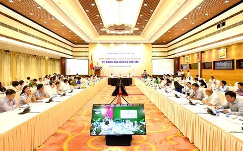 Thủ tướng Nguyễn Xuân Phúc dự Hội nghị về công tác bảo vệ trẻ em - ảnh 1