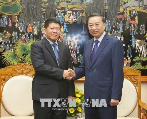 Việt Nam – Thái Lan tăng cuờng hợp tác an ninh - ảnh 1