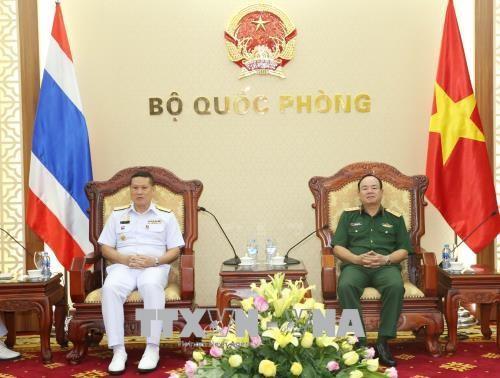 Hải quân Việt Nam - Thái Lan thúc đẩy quan hệ hợp tác - ảnh 1