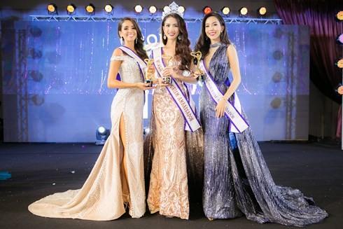 Phan Thị Mơ đăng quang Hoa hậu Đại sứ Du lịch Thế giới 2018 - ảnh 1