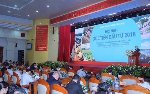 Thủ tướng Nguyễn Xuân Phúc dự Hội nghị Xúc tiến đầu tư tỉnh Tiền Giang 2018 - ảnh 3