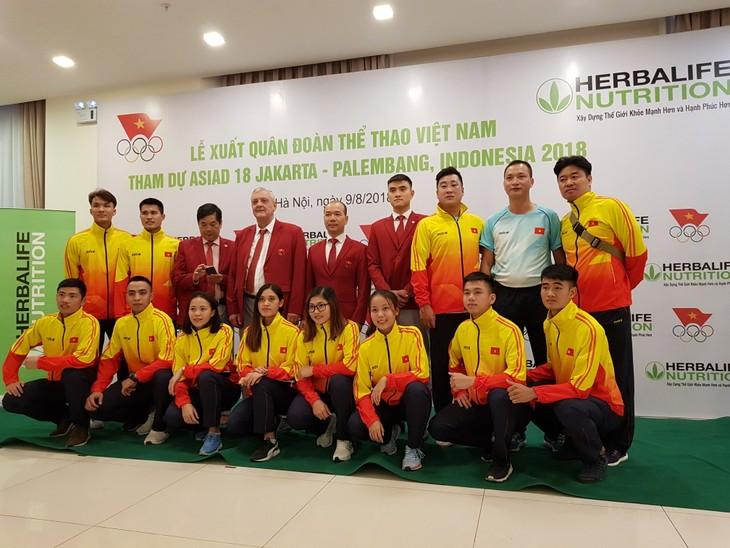 Lễ xuất quân đoàn thể thao Việt Nam tham dự ASIAD 2018  - ảnh 1