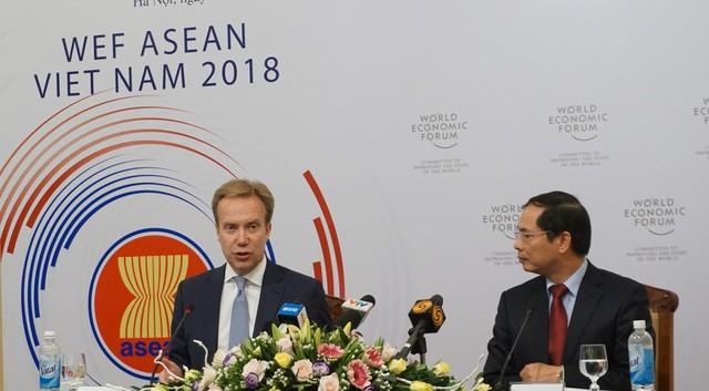 Việt Nam đón các đoàn tiền trạm Hội nghị WEF ASEAN 2018 tại Hà Nội - ảnh 1