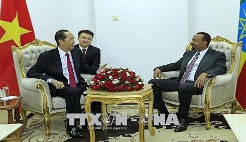 Toàn văn Tuyên bố chung Việt Nam – Ethiopia - ảnh 1