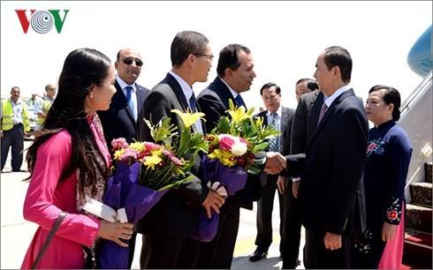 Chủ tịch nước Trần Đại Quang thăm cấp Nhà nước đến Ai Cập - ảnh 3