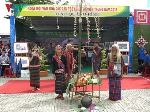 Bế mạc Liên hoan văn hóa các dân tộc miền Trung lần thứ III-2018 - ảnh 1