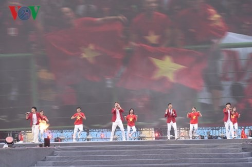 """Lễ vinh danh """"Tự hào Việt Nam!"""" tại sân Mỹ Đình - ảnh 6"""