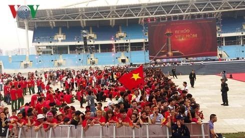 """Lễ vinh danh """"Tự hào Việt Nam!"""" tại sân Mỹ Đình - ảnh 7"""