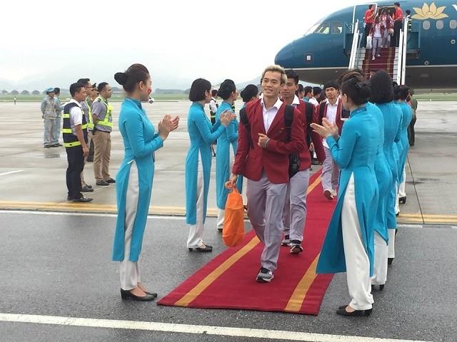 Lễ đón Đoàn thể thao Việt Nam trở về từ Asiad 2018 - ảnh 2
