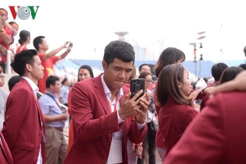 """Lễ vinh danh """"Tự hào Việt Nam!"""" tại sân Mỹ Đình - ảnh 1"""
