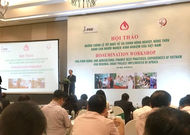 Triển khai sản phẩm và dịch vụ lĩnh vực tài chính nông nghiệp, nông thôn cho người nghèo tại Việt Nam - ảnh 1