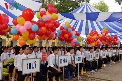 Chủ tịch nước dự Lễ khai giảng tại trường THPT Chu Văn An, Hà Nội - ảnh 3