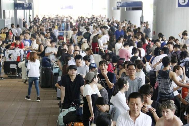 Chưa có thông tin về công dân Việt Nam bị ảnh hưởng bởi cơn bão Jebi - ảnh 1