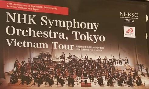 Chương trình hòa nhạc kỷ niệm 45 năm thiết lập quan hệ ngoại giao Việt Nam - Nhật Bản - ảnh 1