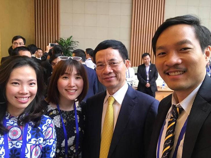 """Phạm Kim Cương: Kết nối""""chất xám"""" để phát triển kinh tế tri thức Việt Nam    - ảnh 4"""